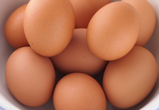 Eggs are on my protein radar screen